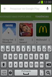Samsung Galaxy Fame - Aplicações - Como pesquisar e instalar aplicações -  14