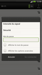 HTC Z520e One S - Wifi - configuration manuelle - Étape 6