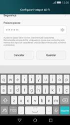 Huawei P8 Lite - Internet no telemóvel - Como partilhar os dados móveis -  8