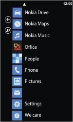 Nokia Lumia 800 - Network - Usage across the border - Step 3