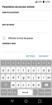 LG Q6 - E-mail - Configuration manuelle - Étape 12