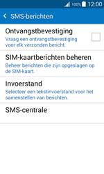 Samsung J100H Galaxy J1 - SMS - handmatig instellen - Stap 7