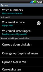 LG P970 Optimus Black - Voicemail - handmatig instellen - Stap 5
