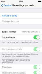 Apple iPhone 5 - Sécuriser votre mobile - Activer le code de verrouillage - Étape 5
