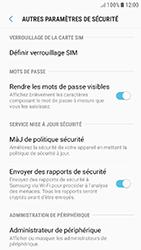 Samsung Galaxy J5 (2017) - Sécuriser votre mobile - Personnaliser le code PIN de votre carte SIM - Étape 6