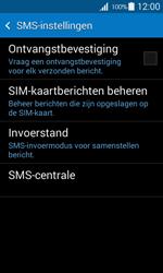 Samsung G357 Galaxy Ace 4 - SMS - Handmatig instellen - Stap 9