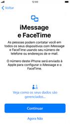 Apple iPhone 7 - iOS 13 - Primeiros passos - Como ativar seu aparelho - Etapa 23