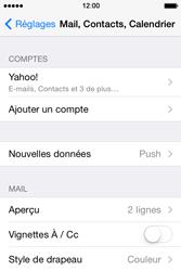 Apple iPhone 4 - E-mails - Ajouter ou modifier votre compte Yahoo - Étape 10