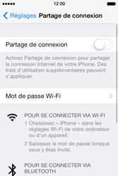 Apple iPhone 4S - Internet et connexion - Partager votre connexion en Wi-Fi - Étape 4