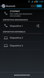 Wiko Stairway - Bluetooth - Conectar dispositivos a través de Bluetooth - Paso 8