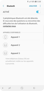 Samsung Galaxy S9 - Bluetooth - connexion Bluetooth - Étape 9