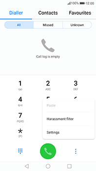 Huawei P10 Plus - Voicemail - Manual configuration - Step 4