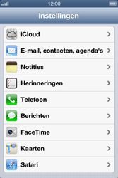 Apple iPhone 4 S - E-mail - Handmatig instellen - Stap 4