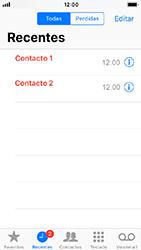 Apple iPhone 5s - iOS 12 - Chamadas - Como bloquear chamadas de um número -  4