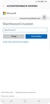 Samsung Galaxy S9 Plus - E-mail - handmatig instellen (outlook) - Stap 7