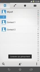 Sony Xperia Z1 4G (C6903) - Contacten en data - Contacten kopiëren van SIM naar toestel - Stap 9