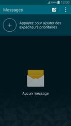 Samsung Galaxy Alpha - Contact, Appels, SMS/MMS - Envoyer un SMS - Étape 4