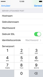 Apple iPhone 5c iOS 10 - E-mail - Account instellen (POP3 met SMTP-verificatie) - Stap 20