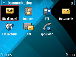 Nokia E71 - Messagerie vocale - configuration manuelle - Étape 5