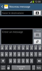 Samsung Galaxy Ace 3 - Contact, Appels, SMS/MMS - Envoyer un SMS - Étape 5