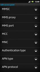 Sony MT27i Xperia Sola - MMS - Manual configuration - Step 13