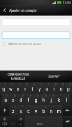 HTC One - E-mail - Configuration manuelle - Étape 7