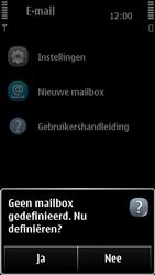 Nokia 500 - E-mail - Handmatig instellen - Stap 5