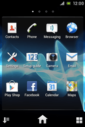 Sony ST23i Xperia Miro - Internet - Enable or disable - Step 3