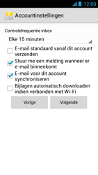 Acer Liquid Z5 - E-mail - Handmatig instellen - Stap 16