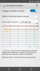 Sony Xperia E4 - Internet no telemóvel - Como ativar os dados móveis -  6