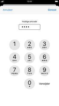 Apple iPhone 6s Plus - iOS 13 - Beveiliging - pas de pincode voor je simkaart aan - Stap 7