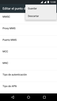 Motorola Moto X Play - Internet - Configurar Internet - Paso 18