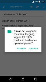 Sony Xperia Z5 Premium (E6853) - Android Nougat - E-mail - E-mails verzenden - Stap 11