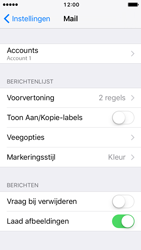 Apple iPhone 5 met iOS 10 (Model A1429) - E-mail - Handmatig instellen - Stap 28
