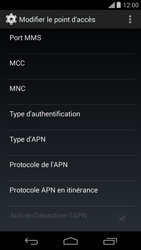 Motorola Moto G - Internet - configuration manuelle - Étape 12