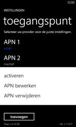 Nokia Lumia 520 - Internet - Handmatig instellen - Stap 21