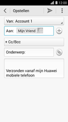 Huawei Ascend Y550 - E-mail - E-mails verzenden - Stap 8