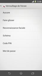 Sony Xpéria Z1 - Sécuriser votre mobile - Activer le code de verrouillage - Étape 6