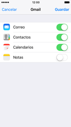 Apple iPhone 5s iOS 10 - E-mail - Configurar Gmail - Paso 8