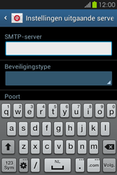 Samsung S6810P Galaxy Fame - E-mail - e-mail instellen: POP3 - Stap 11