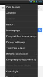 HTC Desire 516 - Internet - Navigation sur Internet - Étape 6