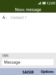Nokia 8110 Banana - MMS - Envoi d