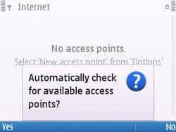 Nokia E5-00 - Internet - Manual configuration - Step 9