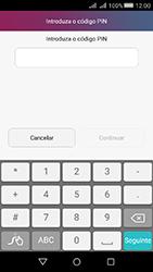 Huawei Y5 II - Segurança - Como ativar o código de bloqueio do ecrã -  6