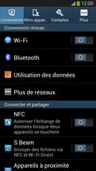 Samsung G386F Galaxy Core LTE - Wifi - configuration manuelle - Étape 3