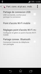 Sony Xpéria E3 - Internet et connexion - Utiliser le mode modem par USB - Étape 7