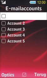 Samsung S7350 Ultra Slide - E-mail - Handmatig instellen - Stap 14