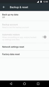 Motorola Moto Z Play - Device - Factory reset - Step 4
