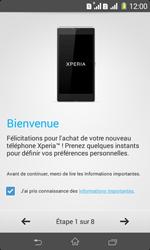 Sony Xpéria E1 Dual - Premiers pas - Créer un compte - Étape 6