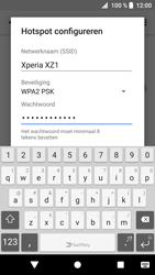 Sony Xperia XZ1 Compact (G8441) - WiFi - Mobiele hotspot instellen - Stap 9